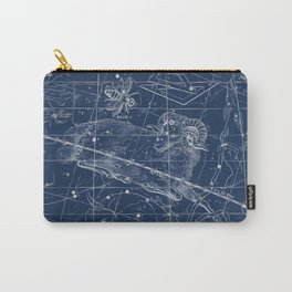 Aries sky star map Carry-All Pouch