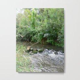 Weser Water Metal Print