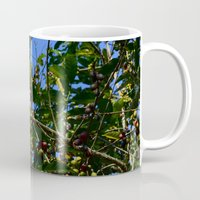 cafe Mugs featuring Cafe by Camaracraft