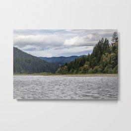 View of Eel River Metal Print