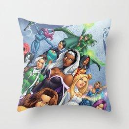 X-WOMEN Throw Pillow