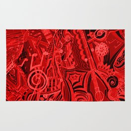 Red Hot Music Rug