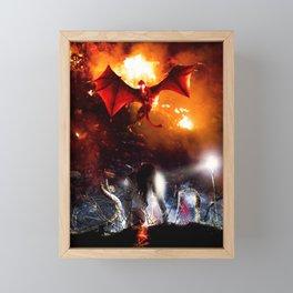 Evil soul Framed Mini Art Print