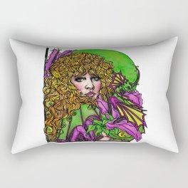 Dragon Lady Rectangular Pillow
