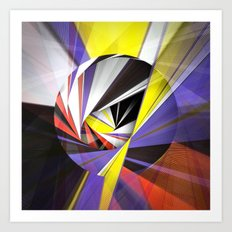 Mondrian's Makeover Art Print