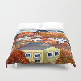 Italy autumn Tarragona Duvet Cover