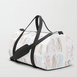 sweet female shapes Duffle Bag