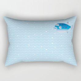 Globefish and Wave Rectangular Pillow