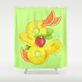 Sliced Shower Curtain
