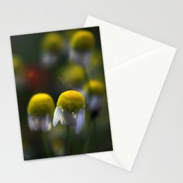 yellow power Stationery Cards