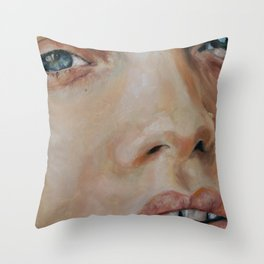 abbey-lee kershaw  Throw Pillow