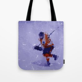Eyes on the Prize - Ice Hockey Player Tote Bag