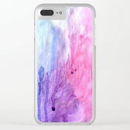 A color love story - part 2 Clear iPhone Case