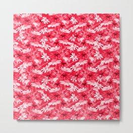 Pink chamomiles Metal Print