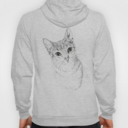 A Sketch :: Cat Eyes Hoody