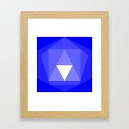 IsoFall Kyanite Framed Art Print