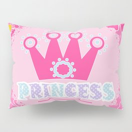 """For the little Princess. From the series """"Gifts for kids"""" . Pillow Sham"""