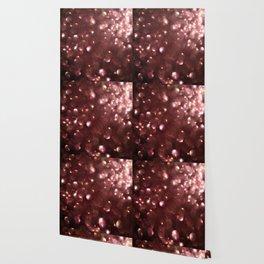 Dark Pink Sparkles Wallpaper