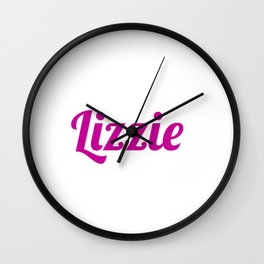 lizzie Wall Clock