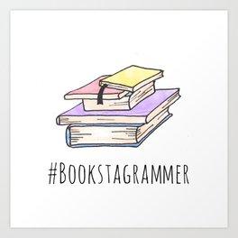 Bookstagrammer Art Print