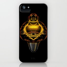 Buddha Lamp iPhone Case