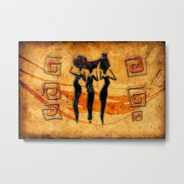 African Water Dancers Metal Print