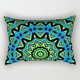 The Tribal Colors Rectangular Pillow