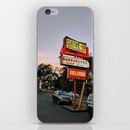 Seattle Drive In iPhone Skin
