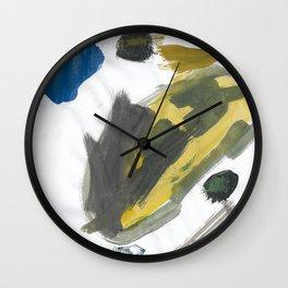 Think Big Watercolor Wall Clock