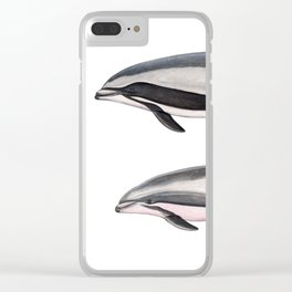 Fraser´s dolphin Clear iPhone Case
