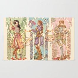 Warrior Princesses Rug