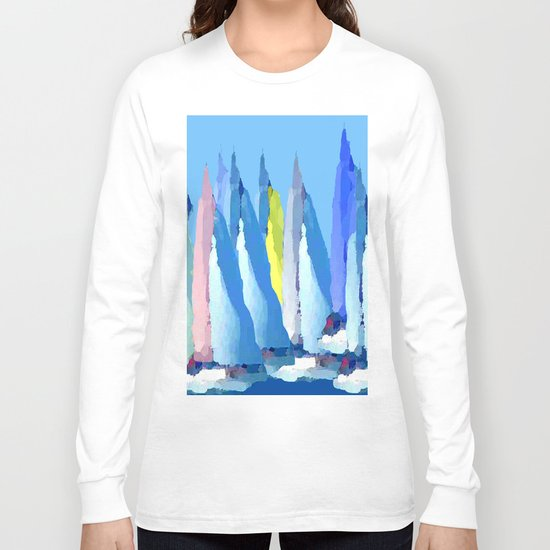 Sailing Boats 3 Long Sleeve T-shirt