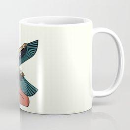 Egyptian goddess maat with wings Coffee Mug