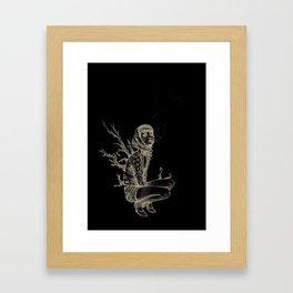 Halloween Baby Framed Art Print