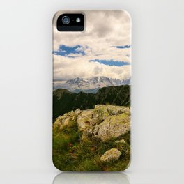Giro dei cinque laghi iPhone Case