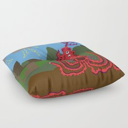 Bad Night Floor Pillow