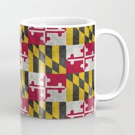 Maryland State flag - Vintage retro style Coffee Mug