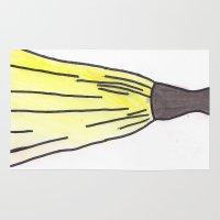 hufflepuff Area & Throw Rugs featuring Hufflepuff Dress by AlwaysRiverose