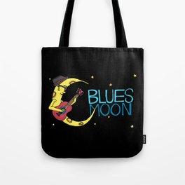 Blues Moon Tote Bag