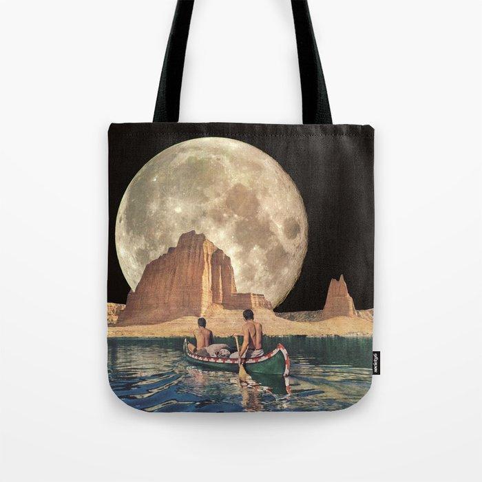 MOON RIVER Tote Bag