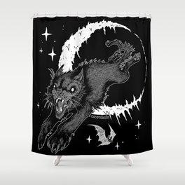 Werecat Shower Curtain