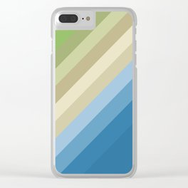 Rainbow of colors 2 Clear iPhone Case