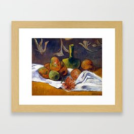 Paul Gauguin Still Life Framed Art Print