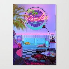 Paradise Wave Canvas Print