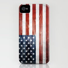 American flag Slim Case iPhone (4, 4s)