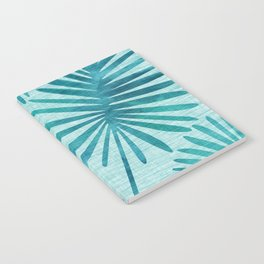 Mid Century Tiki Fronds Notebook