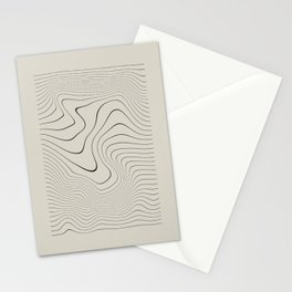 Line Distortion #2 Stationery Cards