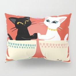 Pair cup Pillow Sham