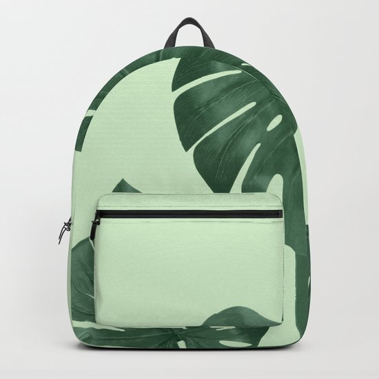 Monstera the nature series Backpack