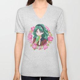 Michiru Kaiou Crystal Unisex V-Neck